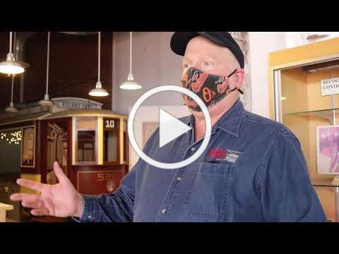 A Virtual Tour of the Baltimore Streetcar Museum