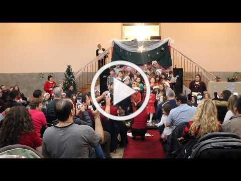Il Natale Arriva in Città - CV Italian Language Program Presentation, 12-1-19