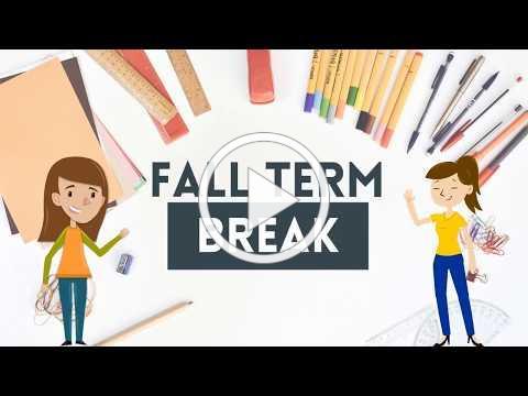 Fall Term Break