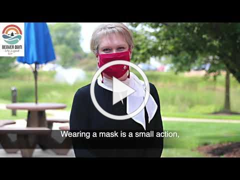 Beaver Dam Wears Mask for Our Community