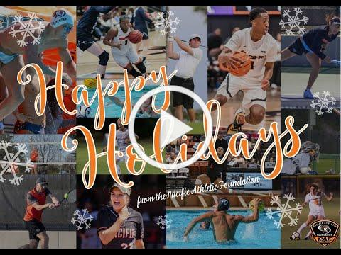 Happy Holidays from Pacific Athletics