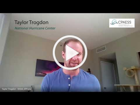 National Hurricane Center: Taylor Trogdon Interview
