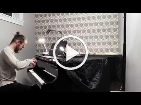 Morning Has Broken - J.S. Bach: Gigue from Fifth Keyboard Partita, BWV 829 - Miles Walter, pianist