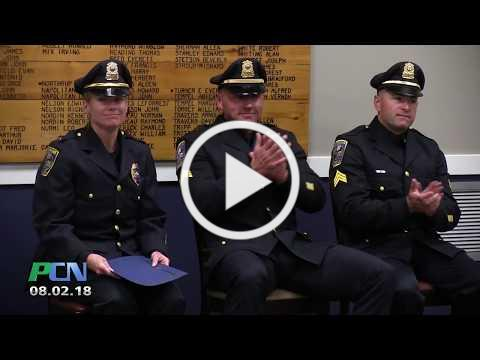 Pembroke Police Swearing-in & Promotions Ceremony