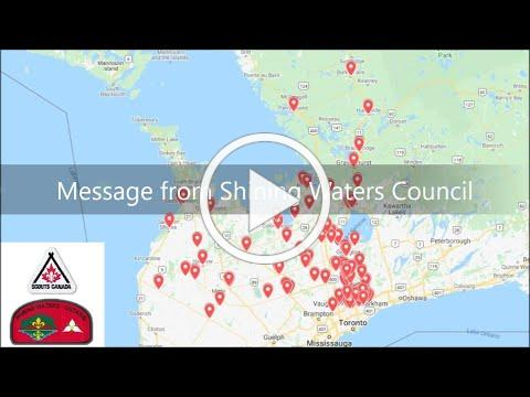 Message from Shining Waters Council - Oct 12, 2020