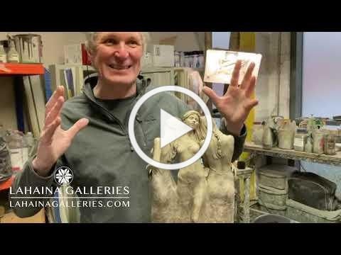 How to Patina a Sculpture - Watch Michael Talbot (Three Graces Bronze)