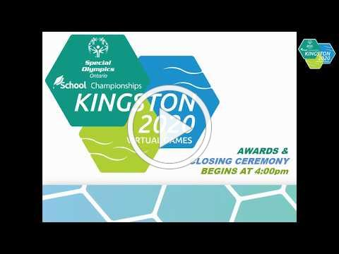 Closing Ceremony for the Special Olympics Ontario Virtual School Championships, 2020